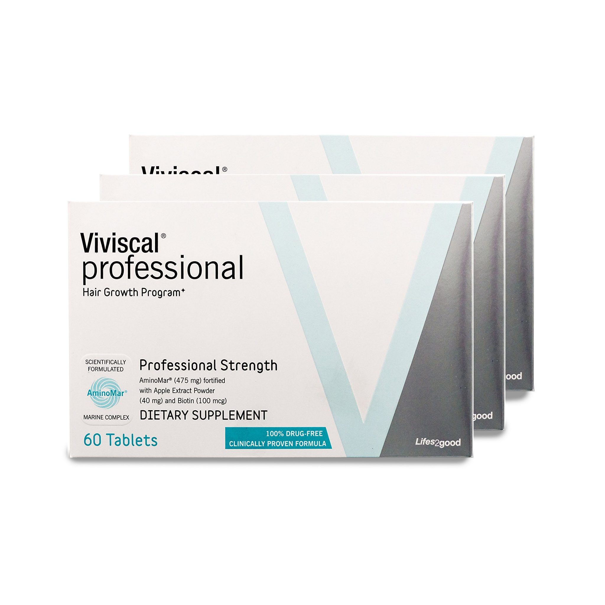 viviscal professional bundle of 3 boxes